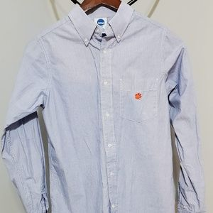 NCAA Clemson Tigers Mens button down ⭐ size S